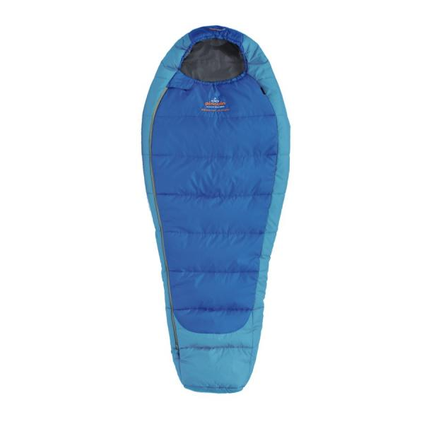 Spací pytel Pinguin Mistral Junior Barva: Modrá, Strana zipu: Pravý zip