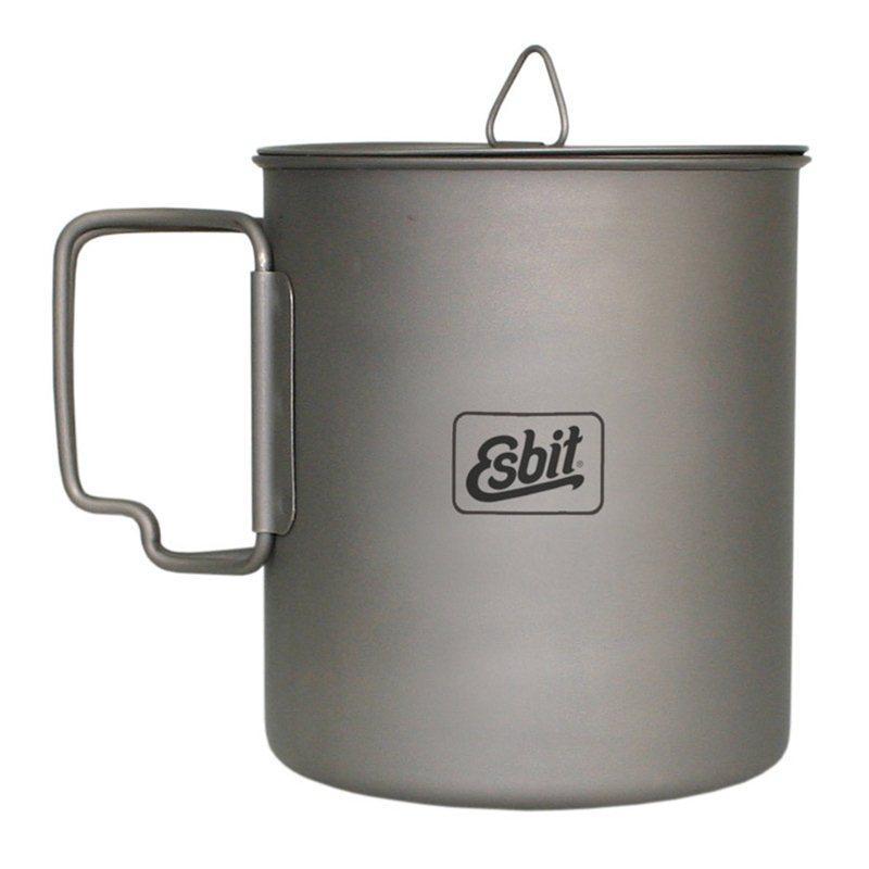Titanový hrnec Esbit 750 ml.