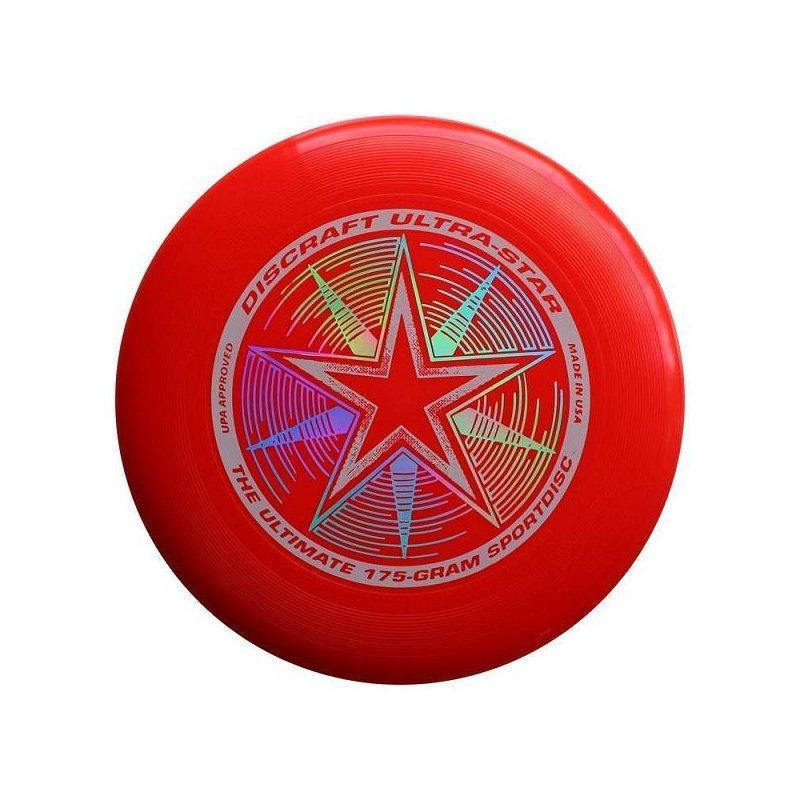 Frisbee Discraft Ultra-Star 175 Červená