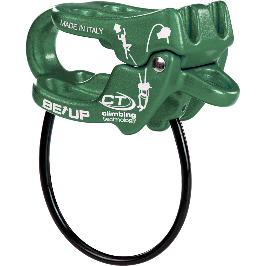 Brzda Climbing Technology BE UP Barva: Green