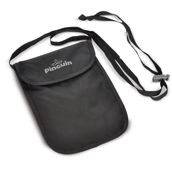Bezpečnostní kapsa na krk Pinguin Neck Security Pocket S Barva: Černá