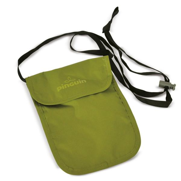 Bezpečnostní kapsa na krk Pinguin Neck Security Pocket S Barva: Zelená
