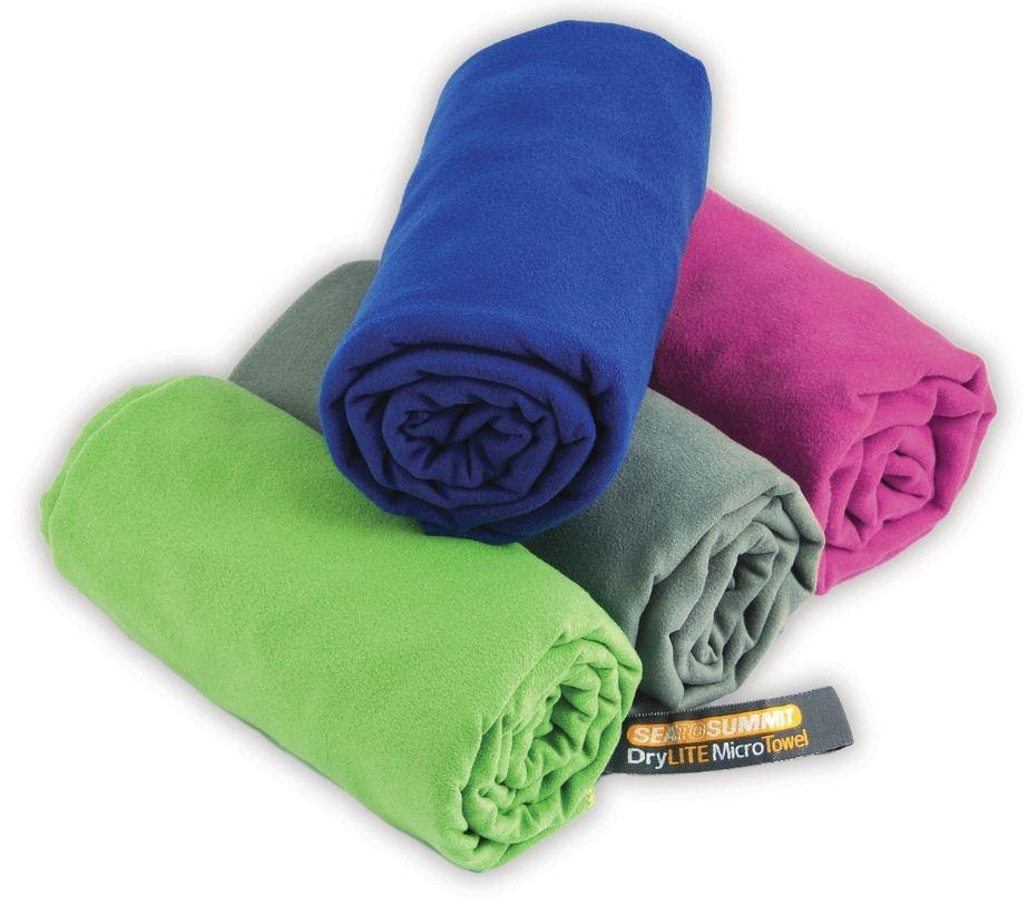 Ručník Sea To Summit Drylite Towel Antibacterial vel. M Barva: Eucalypt Green