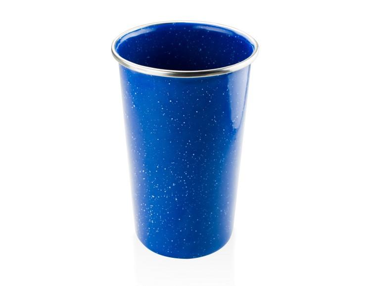 Smaltovaná sklenice GSI Pioneer Pint Barva: Blue