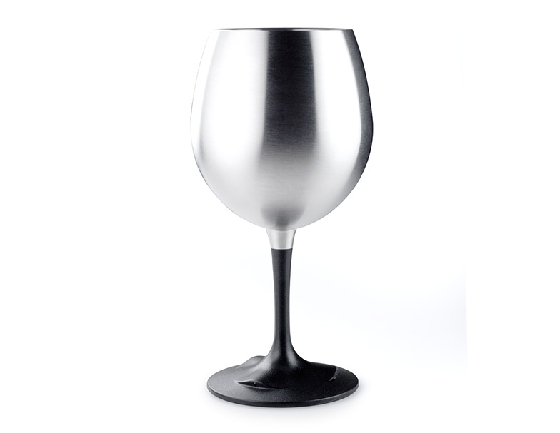 Nerezová sklenice GSI Outdoors Glacier Stainless Nesting Red Wine Glass