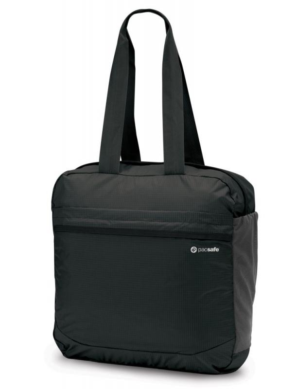 Pacsafe Pouchsafe PX25 charcoal skládací taška přes rameno