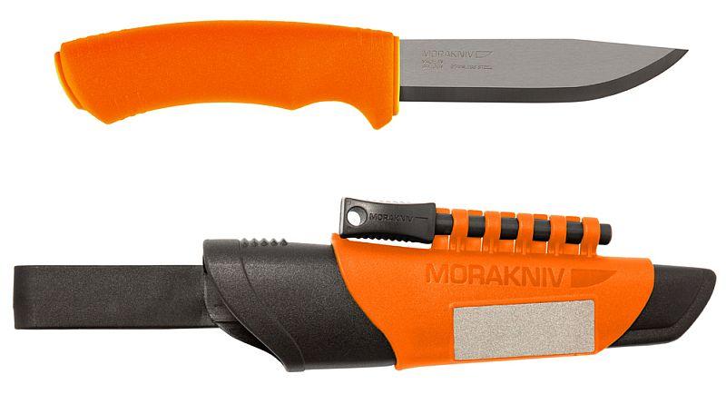 Morakniv nůž Bushcraft Survival Orange