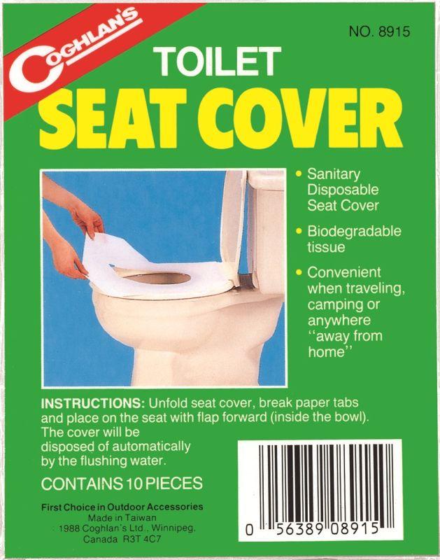 Coghlan´s pokrývka WC sedátka
