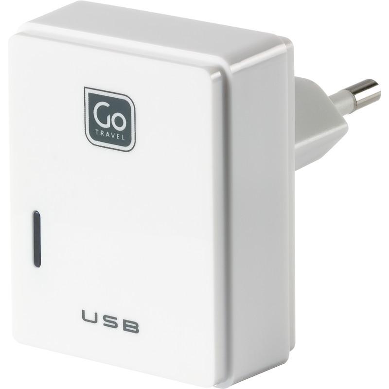 Go Travel USB nabíječka s mikro USB a konektorem pro Evropu