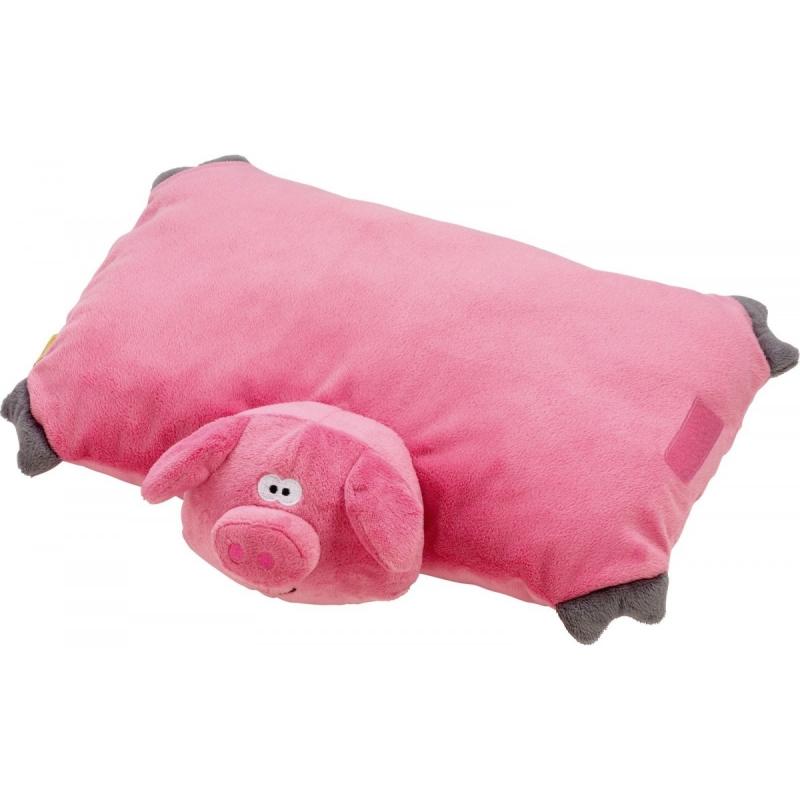 Go Travel dětský skládací polštářek Piggy