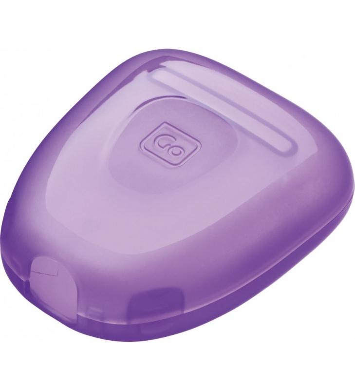Go Travel kryt na holící břity Razor Guards violet