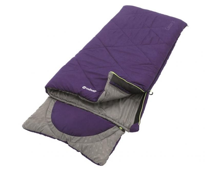 Outwell dětský spací pytel Contour Junior purple