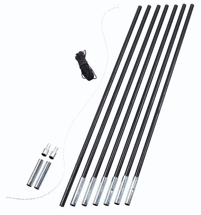 Easy Camp stanové pruty Pole DIY 7 ks/11 mm