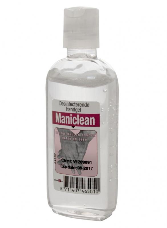 TravelSafe antibakteriální gel Maniclean