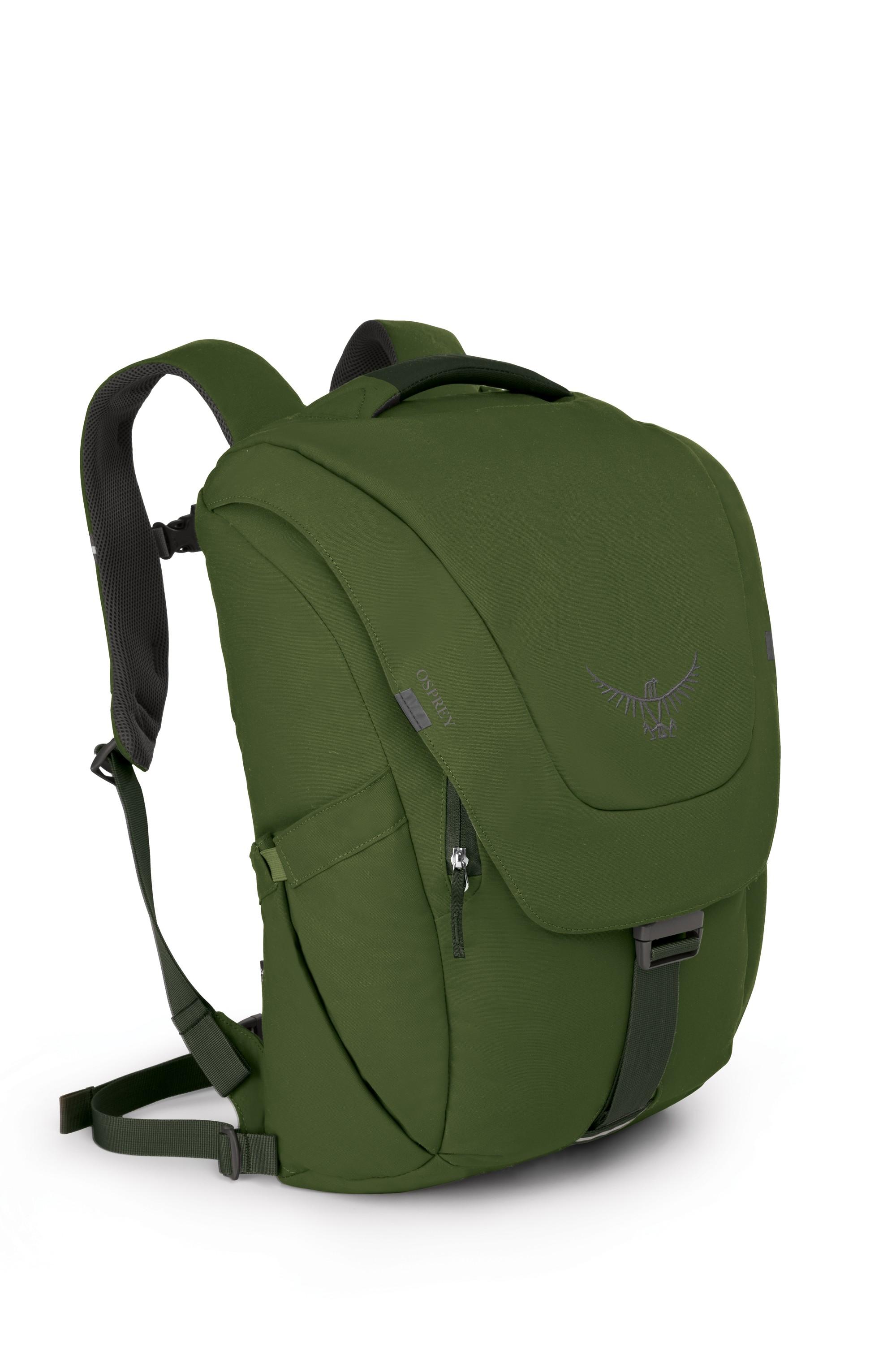 Batoh Osprey Flap Jack Pack Barva: Peat Green