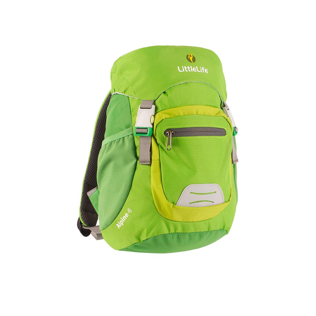 Dětský batoh LittleLife Alpine 4 Kids Daysack Barva: Green