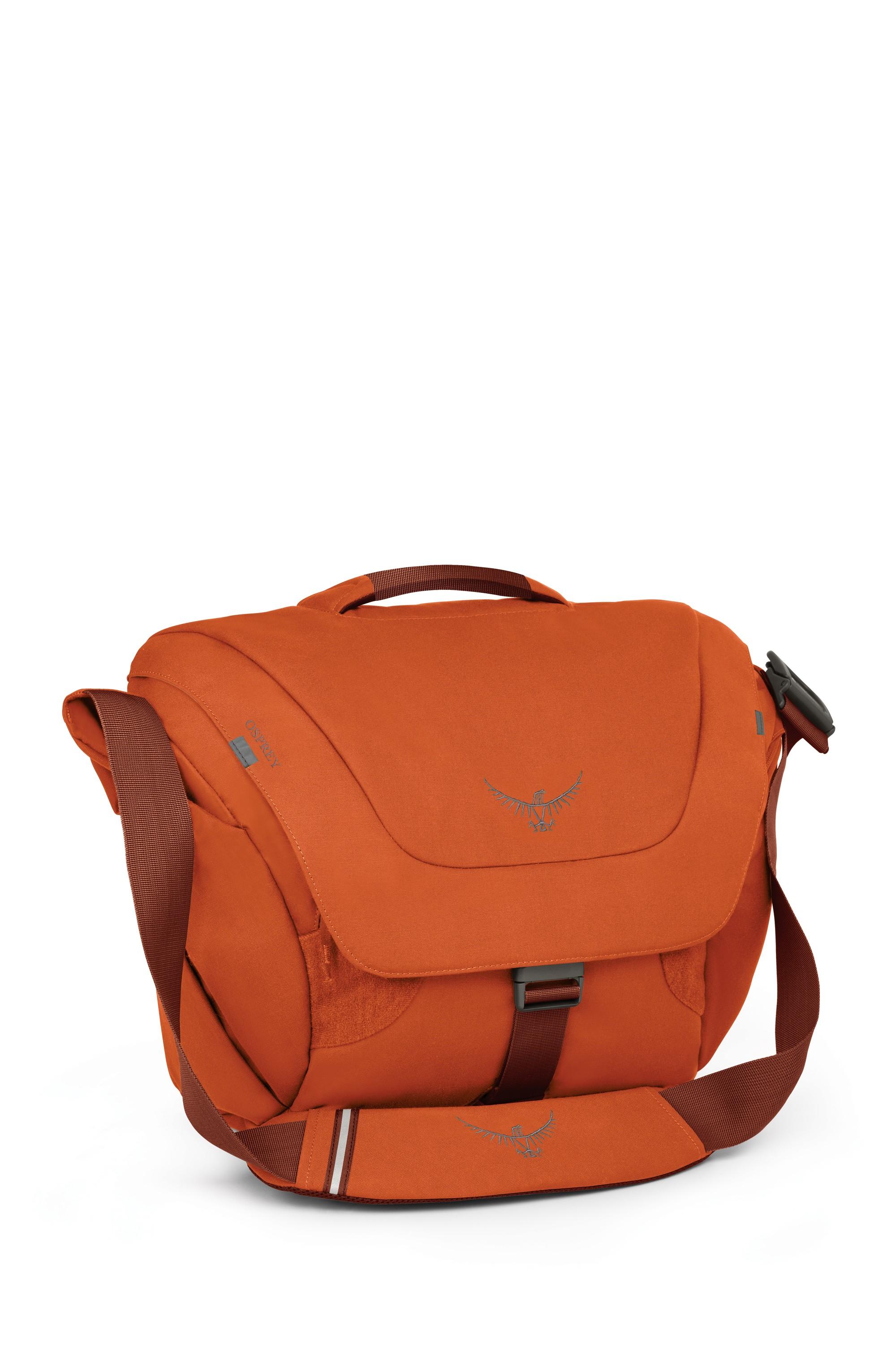 Taška Osprey Flap Jack Courier 2016 Barva: Burnt Orange