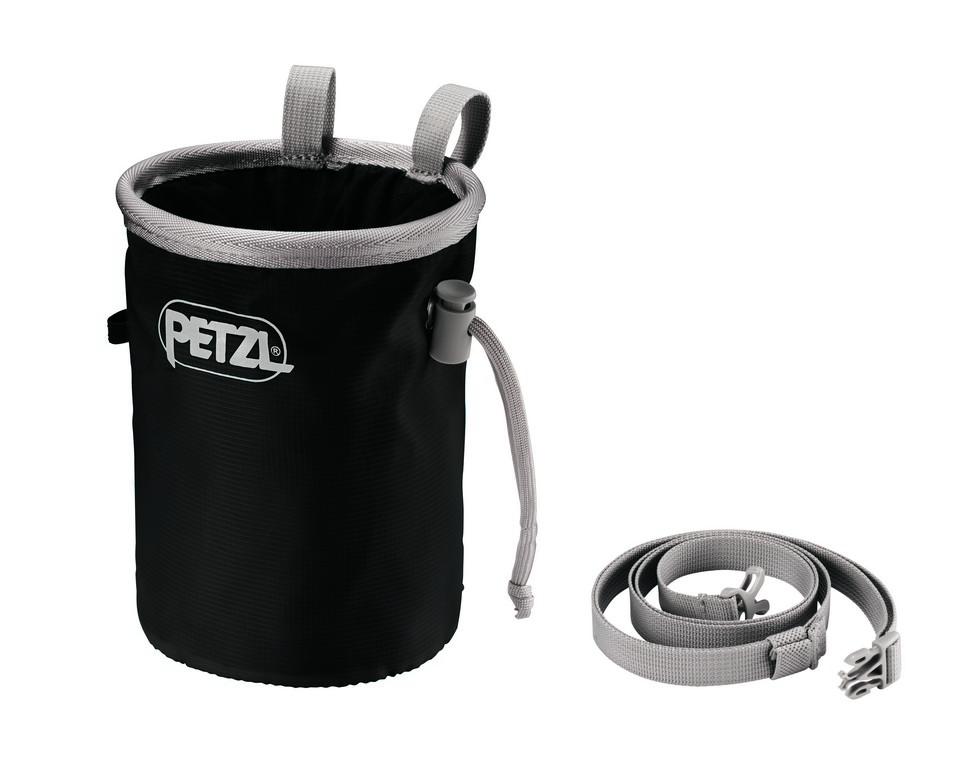 Pytlík na magnesium Petzl Bandi Barva: Grey