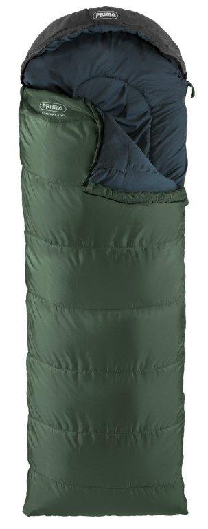 Spacák Prima Basic Comfort 400 Barva: Zelená, Strana zipu: Pravý zip