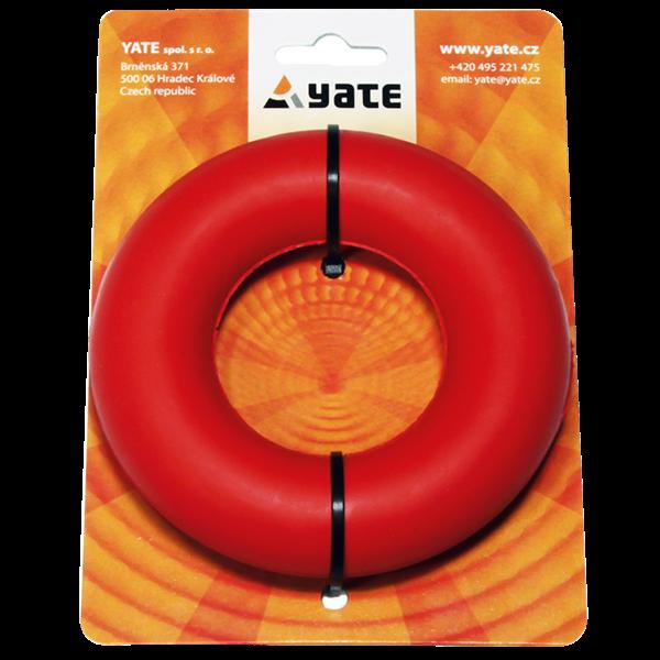 Posilovací kroužek Yate Červený - Středně tuhý