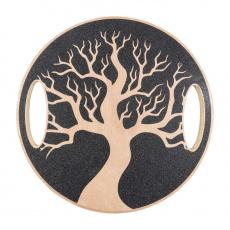 Balanční deska Yate - dřevěná, strom
