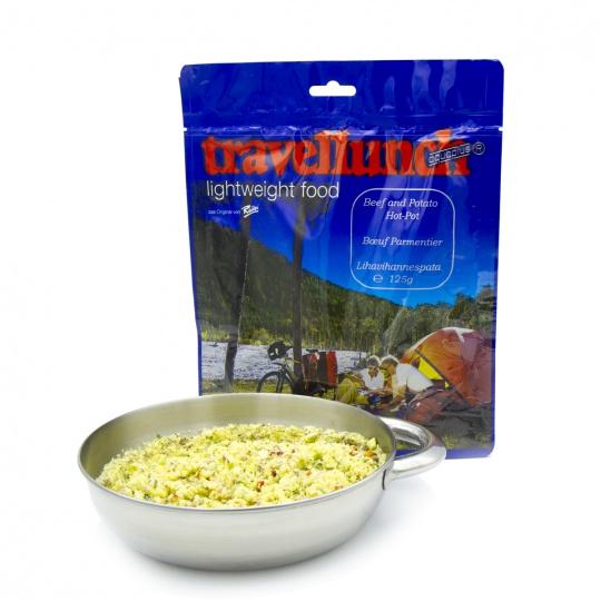 Travellunch Hovězí a brambory HOT-POT  2 porce
