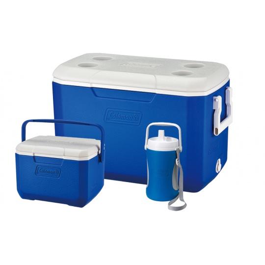 Cooler Combo: POLYLITE 48QT+FlipLid 6 Personal + 1/2 Gallon Performace