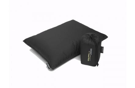 Cocoon cestovní polštář s kachním peřím L black