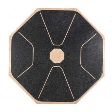 Balanční deska Yate - dřevěná, osmiúhelník