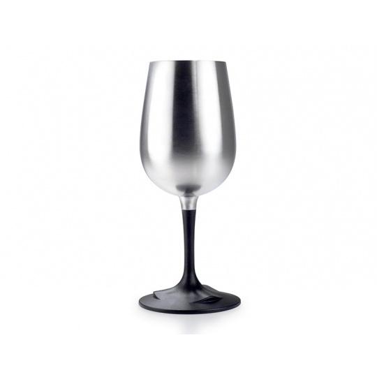 Nerezová sklenice GSI Outdoors Glacier Stainless Nesting Wine Glass