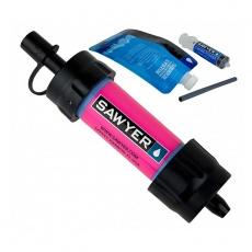 Vodní cestovní filtr Sawyer SP128 Mini Filter Pink