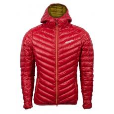 Dámská péřová bunda Pinguin Breeze Hoody Jacket Red