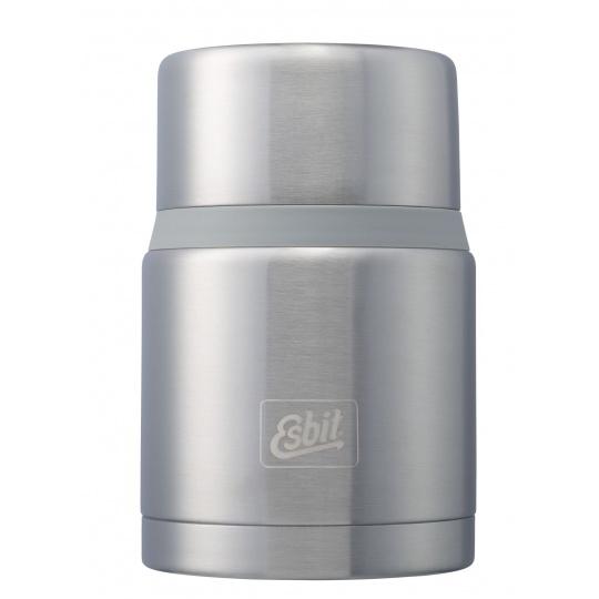 Termoska jídelní se lžící Esbit 750 Silver