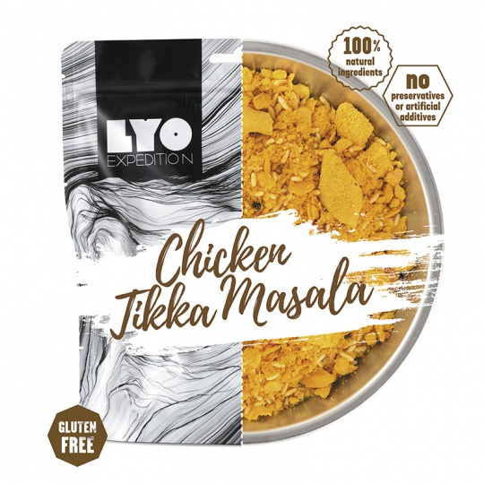 LYOFood Kuře Tikka Masala 370g běžná porce