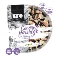 LYOFood Kokosová ovesná kaše s borůvkami, fíky a chia semínky 600 g
