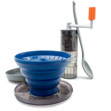Sada s mlýnkem na přípravu kávy GSI Outdoors Gourmet Pourover Java Set