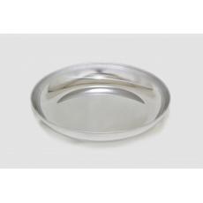Nerezový talíř ALB 850 ml.