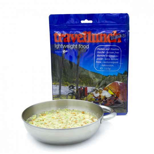 Travellunch Kuře Nudle Hot-Pot bezlaktózové 2 porce