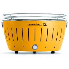 LotusGrill XL Corn Yellow + ZDARMA 1kg dřevěného uhlí LotusGrill + ZDARMA gelový podpalovač LotusGrill + ZDARMA grilovací kleště LotusGrill