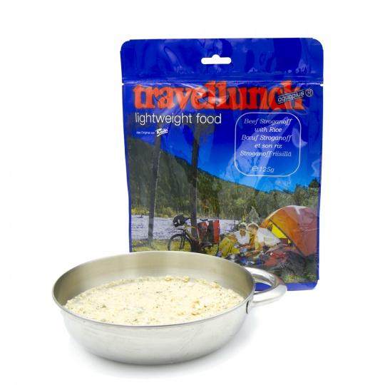 Travellunch Hovězí Stroganoff 2 porce