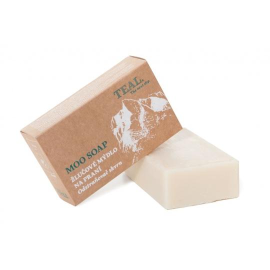 Prací mýdlo Teal Moo Soap