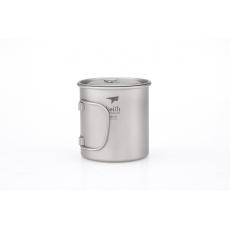 Titanový hrnek s víčkem Keith Mug 550 ml.