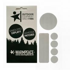 Univerzální samolepicí záplaty Warmpeace  - 6x mix tvarů