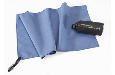 Cocoon ultralehký ručník M fjord blue