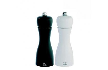 Set mlýnků na pepř a sůl Peugeot TAHITI 15cm černá / bílá