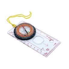 Mapový kompas Baladeo s lupou a pouzdrem