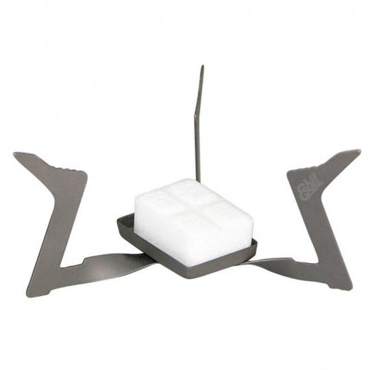 Skládací titanový vařič na pevný líh Esbit