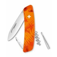 Swiza kapesní nůž D01 Standard Camo Filix orange