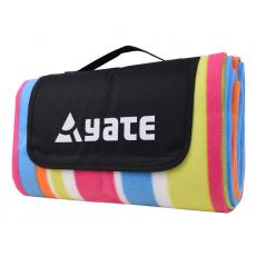 Pikniková deka Yate s Alu fólií vzor B 150 x 130 cm