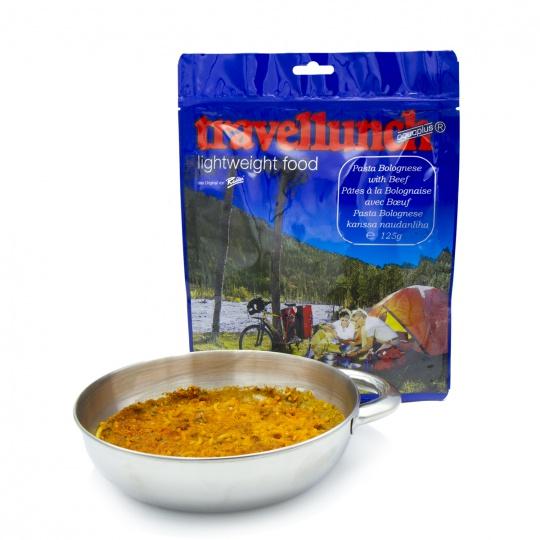 Travellunch Špagety Bolognese s hovězím 2porce